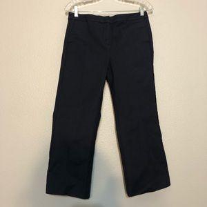 Boden Navy Straight Leg Pants Women's 6 Regular